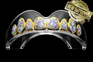 ECONOMY – GOLD / DIAMONDS Mouthguard