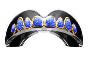 SAPPHIRE STACKS GOLD Mouthguard